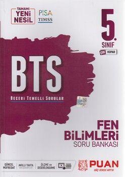 Puan Yayınları 5. Sınıf Fen Bilimleri BTS Beceri Temelli Soru Bankası
