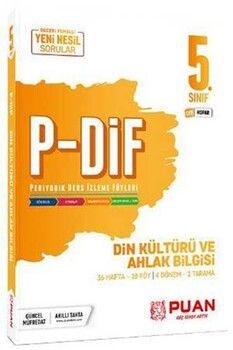 Puan Yayınları 5. Sınıf Din Kültürü ve Ahlak Bilgisi PDİF Konu Anlatım Föyleri