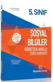 Puan Yayınları 5. Sınıf Sosyal Bilgiler Öğreten Akıllı Soru Bankası