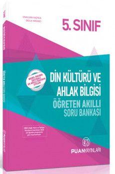 Puan Yayınları 5. Sınıf Din Kültürü ve Ahlak Bilgisi Öğreten Akıllı Soru Bankası