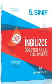 Puan Yayınları 5. Sınıf İngilizce Öğreten Akıllı Soru Bankası