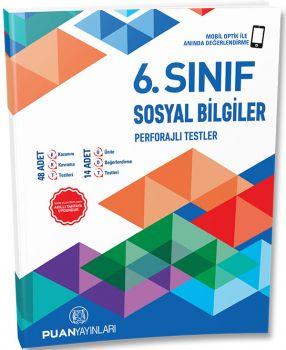 Puan Yayınları 6. Sınıf Sınıf Sosyal Bilgiler Perforajlı Testler