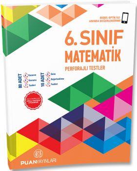 Puan Yayınları 6. Sınıf Matematik Perforajlı Testler