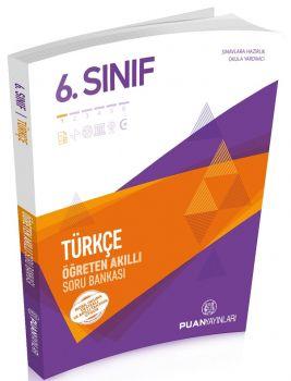 Puan Yayınları 6. Sınıf Türkçe Akıllı Soru Bankası