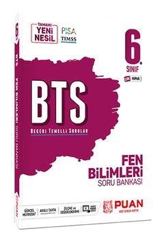 Puan Yayınları 6. Sınıf Fen Bilimleri BTS Beceri Temelli Soru Bankası