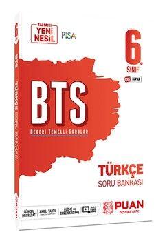 Puan Yayınları 6. Sınıf Türkçe BTS Beceri Temelli Soru Bankası