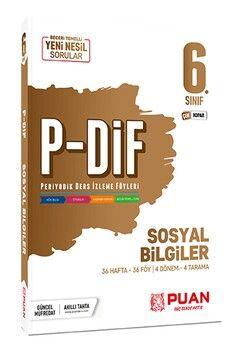 Puan Yayınları 6. Sınıf Sosyal Bilgiler PDİF Konu Anlatım Föyleri