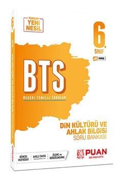Puan Yayınları 6. Sınıf Din Kültürü ve Ahlak Bilgisi BTS Beceri Temelli Soru Bankası