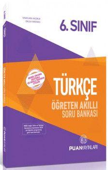 Puan Yayınları 6. Sınıf Türkçe Öğreten Akıllı Soru Bankası