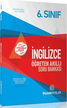Puan Yayınları 6. Sınıf İngilizce Öğreten Akıllı Soru Bankası
