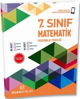 Puan Yayınları 7. Sınıf Matematik Perforajlı Testler