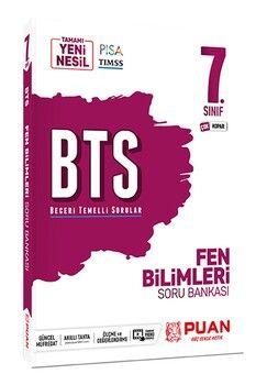 Puan Yayınları 7. Sınıf Fen Bilimleri BTS Beceri Temelli Soru Bankası