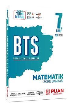 Puan Yayınları 7. Sınıf Matematik BTS Beceri Temelli Soru Bankası