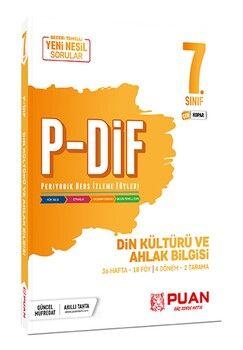 Puan Yayınları 7. Sınıf Din Kültürü ve Ahlak Bilgisi PDİF Konu Anlatım Föyleri