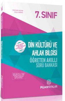 Puan Yayınları 7. Sınıf Din Kültürü ve Ahlak Bilgisi Öğreten Akıllı Soru Bankası