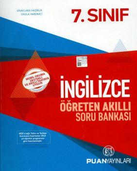 Puan Yayınları 7. Sınıf İngilizce Öğreten Akıllı Soru Bankası