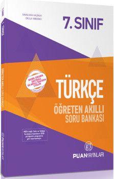 Puan Yayınları 7. Sınıf Türkçe Öğreten Akıllı Soru Bankası