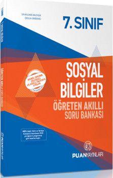 Puan Yayınları 7. Sınıf Sosyal Bilgiler Öğreten Akıllı Soru Bankası