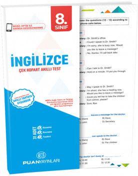 Puan Yayınları 8. Sınıf İngilizce Akıllı Test