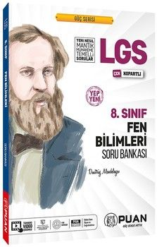 Puan Yayınları 8. Sınıf LGS Fen Bilimleri Soru Bankası