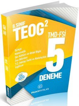 Puan Yayınları 8. Sınıf TEOG 2 Deneme 5 li TMD-FSİ