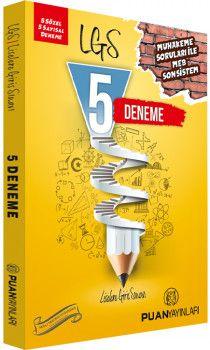 Puan Yayınları 8. Sınıf LGS 5 Deneme