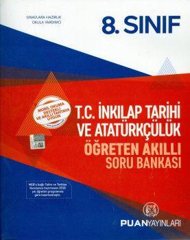 Puan Yayınları 8. Sınıf T.C. İnkılap Tarihi ve Atatürkçülük Öğreten Akıllı Soru Bankası