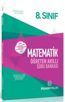 Puan Yayınları 8. Sınıf Matematik Öğreten Akıllı Soru Bankası