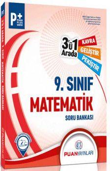Puan Yayınları 9. Sınıf Matematik 3 ü 1 Arada Soru Bankası