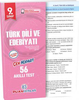 Puan Yayınları 9. Sınıf Türk Dili ve Edebiyatı Akıllı Test