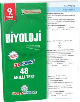 Puan Yayınları 9. Sınıf Biyoloji Akıllı Test