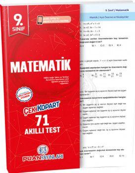 Puan Yayınları 9. Sınıf Matematik Akıllı Test