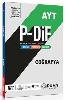 Puan Yayınları AYT Coğrafya PDİF Konu Anlatım Fasikülleri