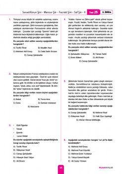 Puan Yayınları AYT Edebiyat Soru Bankası