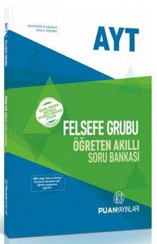 Puan Yayınları AYT Felsefe Grubu Öğreten Akıllı Soru Bankası
