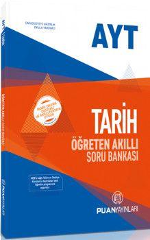 Puan Yayınları AYT Tarih Öğreten Akıllı Soru Bankası