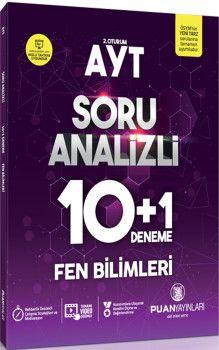 Puan Yayınları AYT Fen Bilimleri Soru Analizli 10+1 Deneme