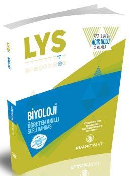 Puan Yayınları LYS Biyoloji Öğreten Akıllı Açık Uçlu Sorularla Soru Bankası