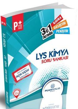 Puan Yayınları LYS Kimya Puan Plus 3 ü Bir Arada Soru Bankası