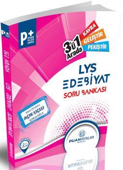 Puan Yayınları LYS Edebiyat 3 ü Bir Arada Soru Bankası