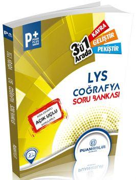 Puan Yayınları LYS Puan Plus Coğrafya Üçü Bir Arada Soru Bankası