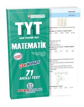 Puan Yayınları TYT Matematik Akıllı Test