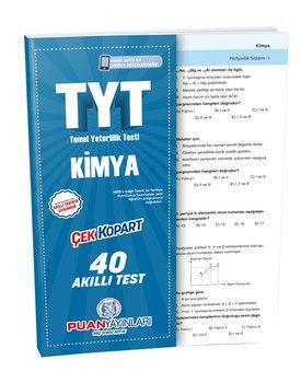 Puan Yayınları TYT Kimya Akıllı Test