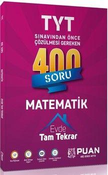 Puan Yayınları TYT Matematik 400 Soru Tam Tekrar