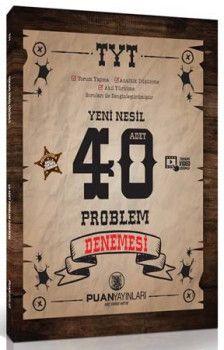 Puan Yayınları TYT Yeni Nesil Problemler 40 Deneme