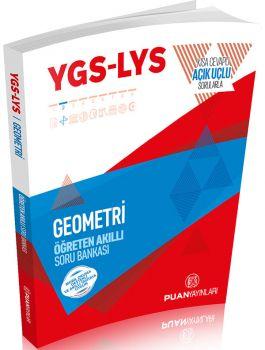 Puan Yayınları YGS LYS Geometri Öğreten Akıllı Soru Bankası Kısa Cevaplı Açık Uçlu Sorularla