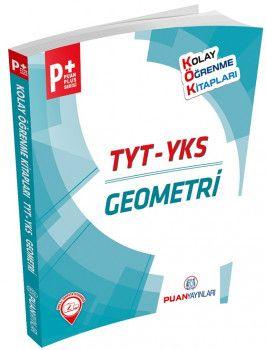 Puan Yayınları YKS 1. Oturum TYT Geometri Puan Plus Kolay Öğrenme Serisi
