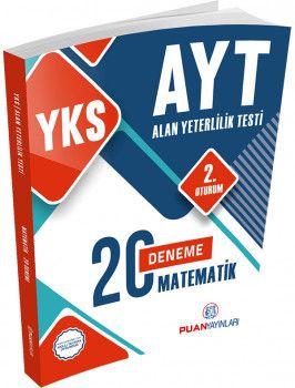 Puan Yayınları YKS 2. Oturum AYT Matematik 20 Deneme