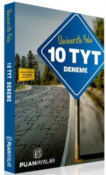 Puan Yayınları YKS 1. Oturum TYT Üniversite Yolu 10 Deneme
