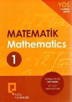 Puza Yayınları YÖS Hazırlık Serisi Matematik Soru Bankası